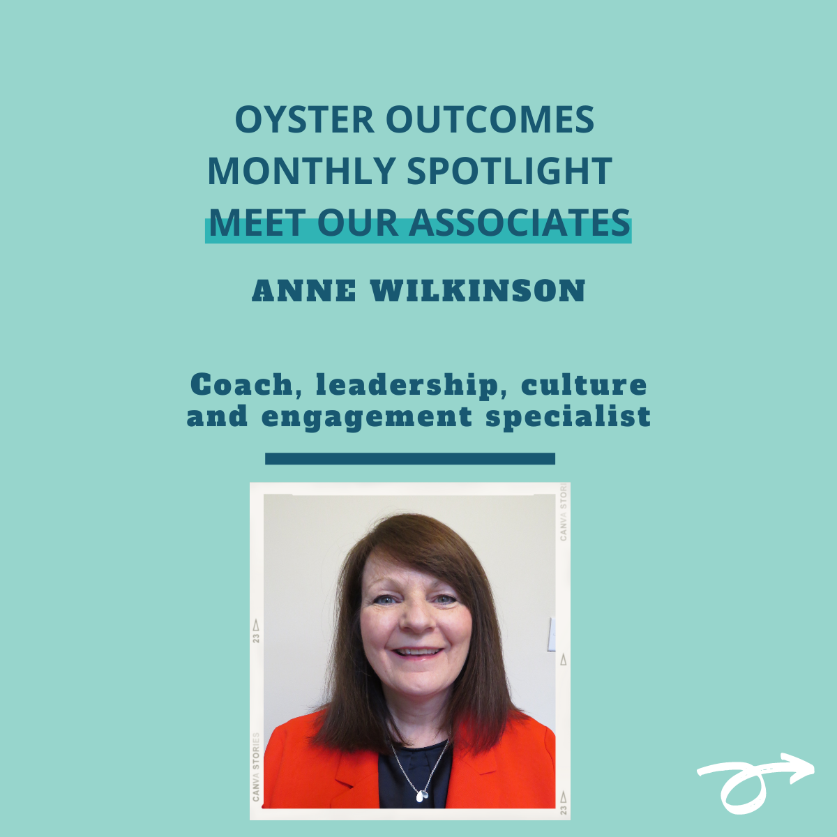 Introducing Anne Wilkinson to the Oyster Outcome associates